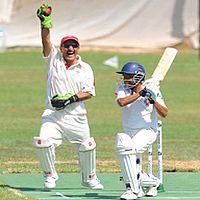 Marsa C.C played Melita C.C in the winter cricket league