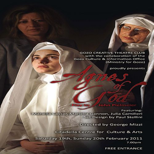 Agnes of God by The Gozo Creative Theatre Club