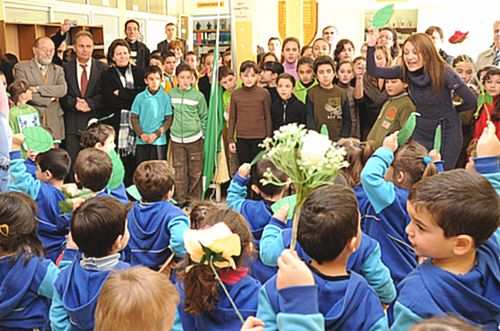 Xaghra Primary School children celebrate Arbor Day 2011