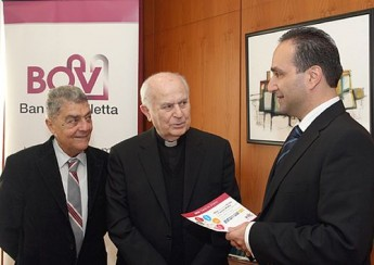 Caritas benefits from BOV 'Cards for Charity' Campaign