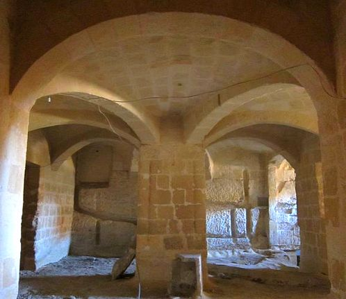 Casa Lanfreducci basement confirmed part of Church Crypt