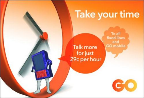 GO's latest prepaid plan -  Pay As You GO Talk & Talk