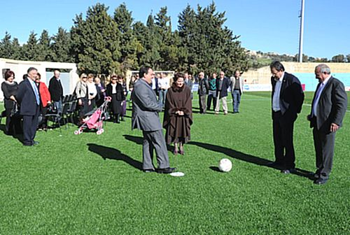 New 5-a-side sports facilities & carpark at the Gozo Stadium