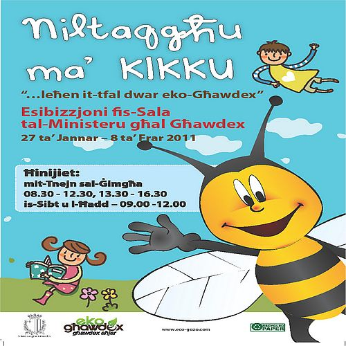 Exhibition to take place on children's views on eco-Gozo
