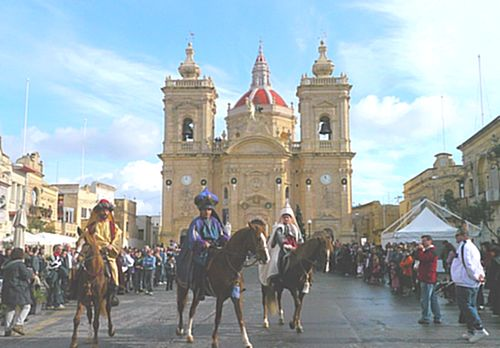 'La Cavalcata dei Magi ' held in Xaghra for the 2nd year