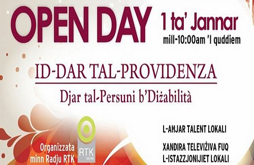 Open Day today at Dar Tal-Providanza in Siggiewi