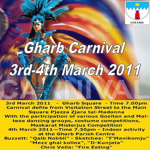Gharb Carnival 2011 gets underway next Thursday & Friday