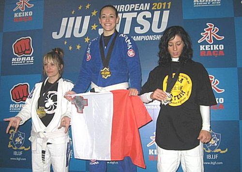Maltese athlete wins the European Jiu-Jitsu Championship