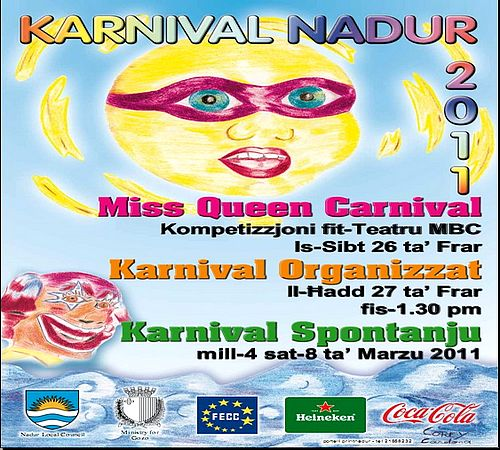 Nadur Carnival 2011 celebrations get underway this month