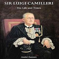 A talk on Sir Luigi Camilleri at Circolo Gozitano in Victoria