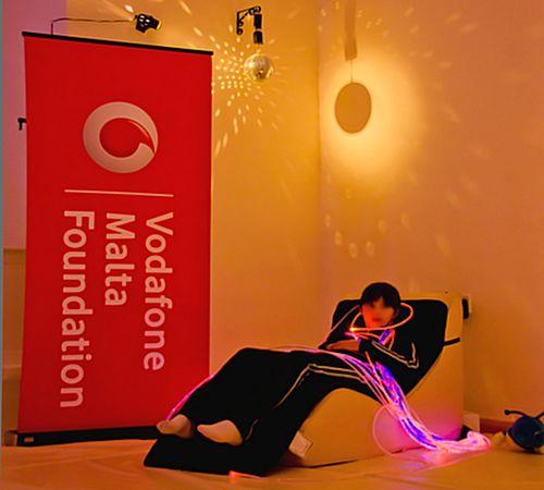 Fra Diego children's sensory experience - Vodafone Malta