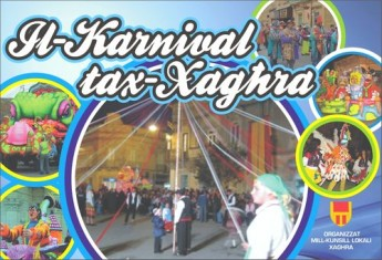 Carnival activities to be held in Xaghra during March 2011