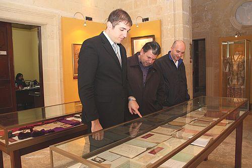 An exhibition on Dun Alwig Ta' Savina at the Banca Giuratale