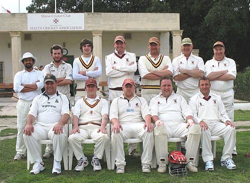 Marsa C.C take on the returning team Ampthill C.C