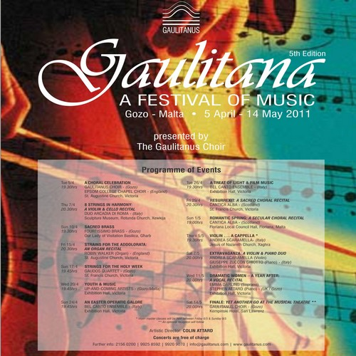 Gaulitana: A Festival of Music gets underway next week