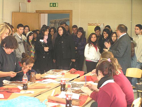 Gozo Centre for Arts and Crafts hosts group of 50 students