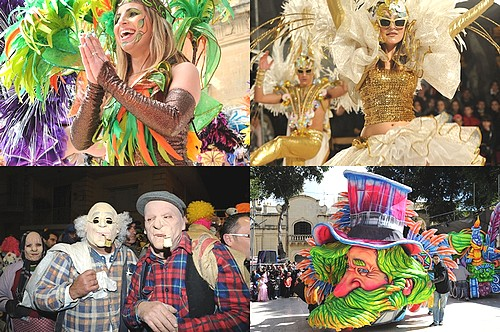 The Gozo Regional Carnival 2011 draws large crowds