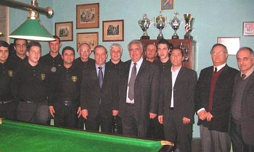The Gozo Snooker Club takes part in Valletta tournament