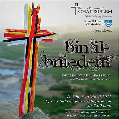 The Passion Play with Ghaqda Drammatika Ghajnsielem