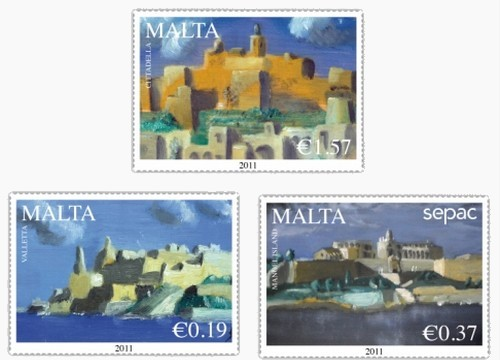 Treasures of Malta and Gozo - New landscapes stamps issue