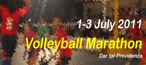 Id-Dar tal-Providenza launches the volleyball marathon 2011