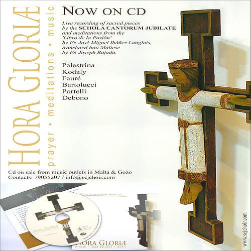 'Hora Gloriæ' CD launched by Schola Cantorum Jubilate