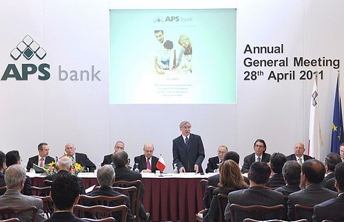APS Bank registers a 35% rise in profits over previous year