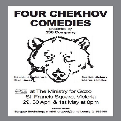 Four Chekhov Comedies presented by the 356 Company