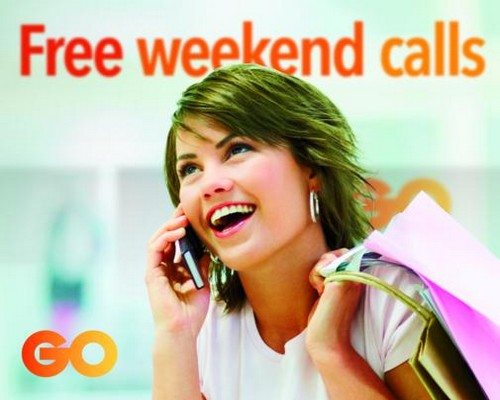 Free weekend calls are back for GO mobile customers