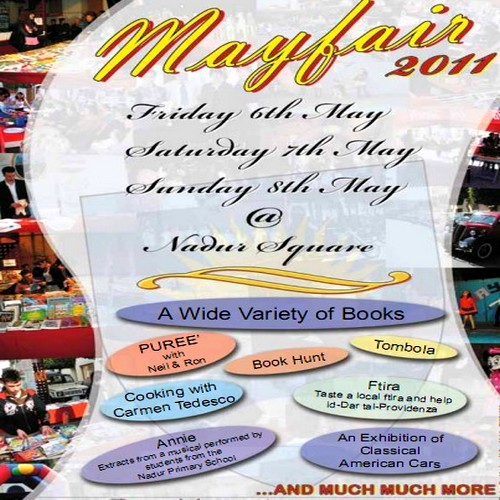 "Annual ""Mayfair"" weekend being held next week in Nadur"