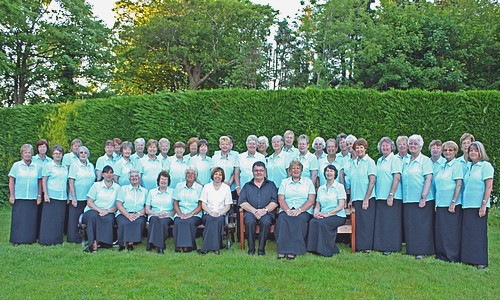 The Nayland Ladies Choir in concert as part of JP2 Festival