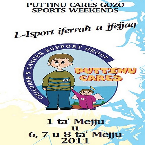 First Puttinu Cares Gozo Sports Weekend being held in May