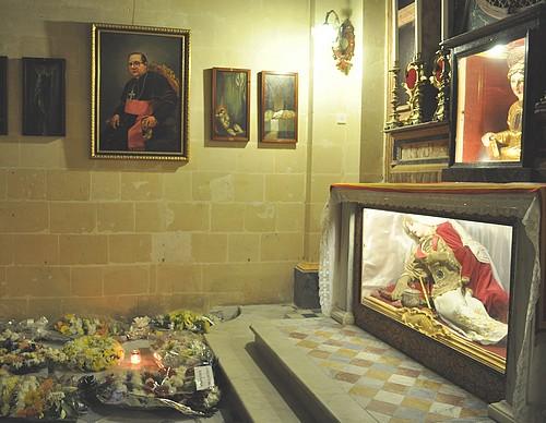 Gozo remembers Bishop Nikol Cauchi on Good Friday