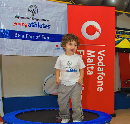 The Special Olympics' Young Athletes Programme launched