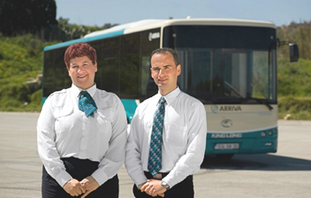 Arriva announces that over 530 drivers are now on contract