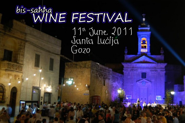 Santa Lucija's annual Bis-Sahha Wine Festival  in June