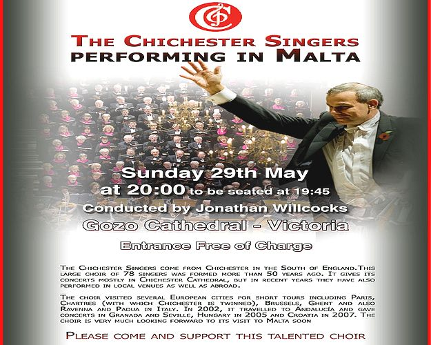 JP2 Memorial Festival concert by the Chichester Singers