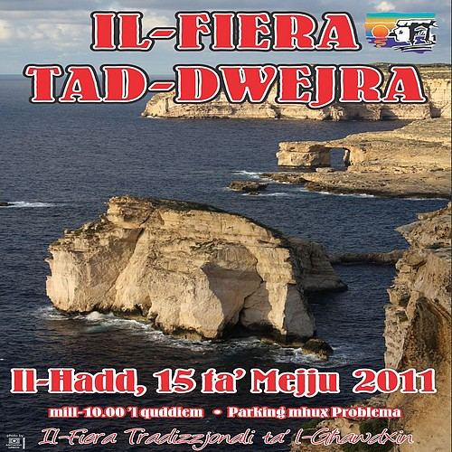 2011 edition of 'il-Fiera tad-Dwejra' being held next Sunday