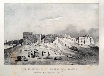 19th Century Souvenir Illustrations of the Ggantija Temples