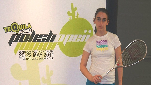 4th place for Kimberley Cauchi in Polish Junior Squash Open
