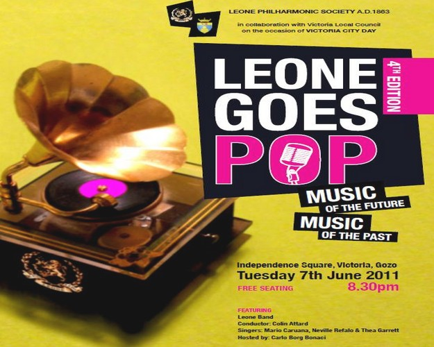 The 4th edition of Leone Goes Pop taking place in Victoria