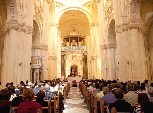 Special Mother's Day mass celebrated at Ta' Pinu Sanctuary