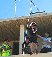 E.R.R.C. volunteers at various events around Gozo