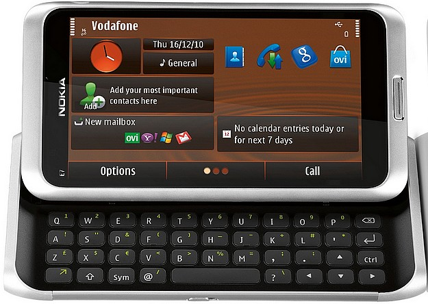 Vodafone launches the Nokia E7 onto the local market