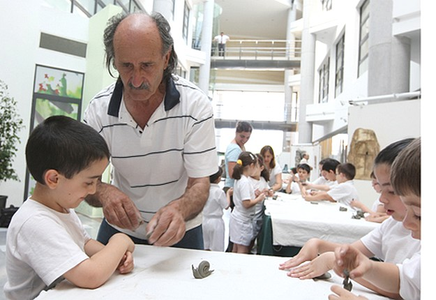 Paul Haber ceramics talk and discussion at BOV Head Office