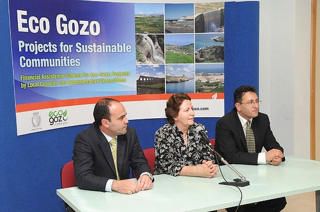Eco-Gozo grants of €660,558 awarded to Gozitan Councils