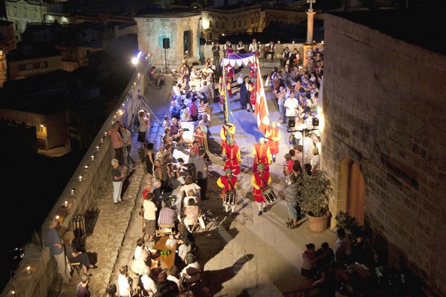 The feast of St John the Baptist celebrated at the Citadel