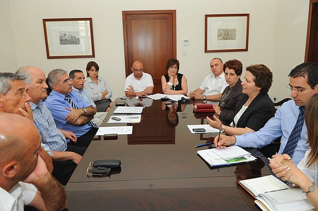 Meeting on tourism projects with the GTA & Gozo Ministry