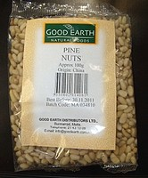 Environmental Health warning on various pine nuts brands