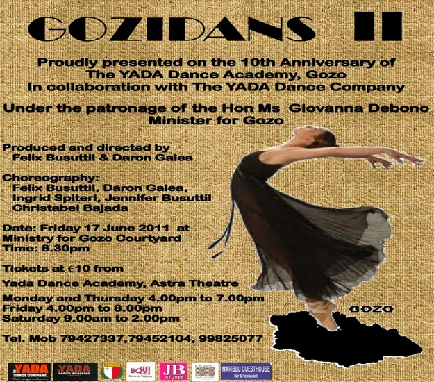 YADA Dance Academy presents GOZIDANS II this Friday